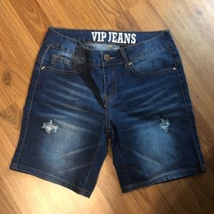VIP Jeans Denim Shorts